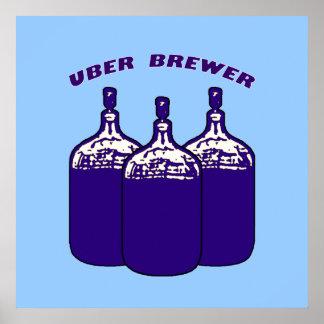 Cervecero de Uber Impresiones