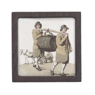 """Cerveceros, del """"traje de Gran Bretaña"""" publicada Cajas De Joyas De Calidad"""