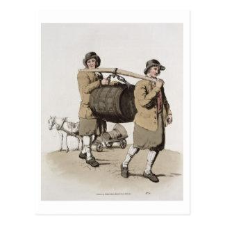 "Cerveceros, del ""traje de Gran Bretaña"" publicada Tarjeta Postal"
