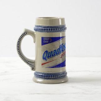 """Cerveza 2011 de Quadfest Stein con """"diseño de la c Taza"""