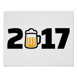 cerveza 2017 póster