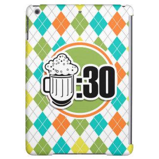 Cerveza: 30 en el modelo colorido de Argyle