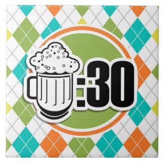 Cerveza: 30 en el modelo colorido de Argyle Tejas Cerámicas