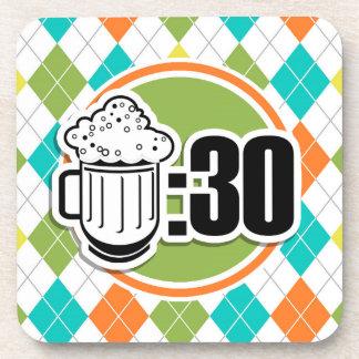 Cerveza: 30 en el modelo colorido de Argyle Posavaso