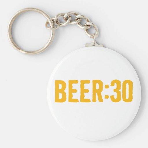 Cerveza: 30 llavero personalizado