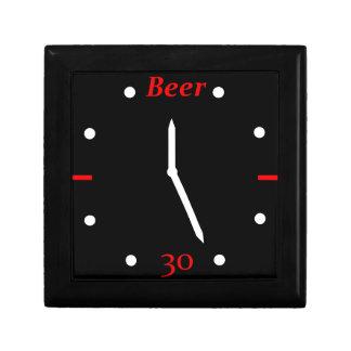 CERVEZA 30 - Reloj Joyero Cuadrado Pequeño