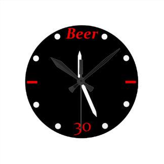 CERVEZA 30 - Reloj
