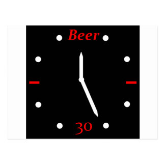 CERVEZA 30 - Reloj Postal