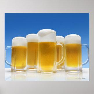 Cerveza 6 posters