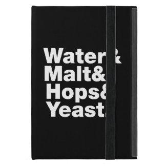 Cerveza = agua y malta y saltos y levadura iPad mini carcasa