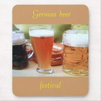 Cerveza alemana, mousepad del festival