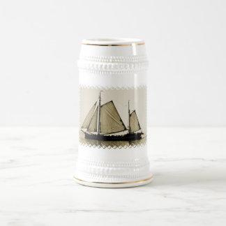 Cerveza alta Stein de la nave Tazas