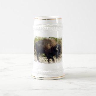 Cerveza americana Stein del búfalo Jarra De Cerveza