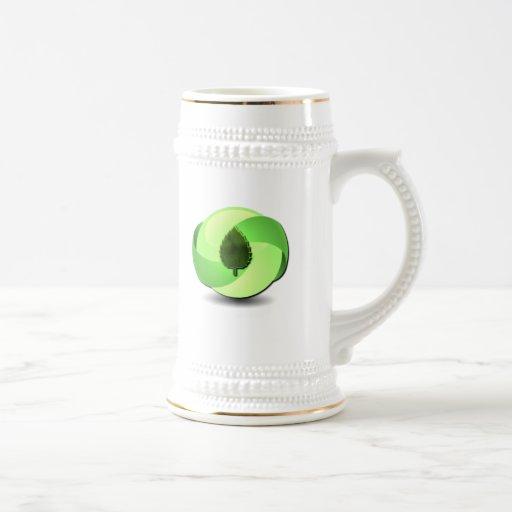 Cerveza amistosa Stein de la tierra Taza De Café