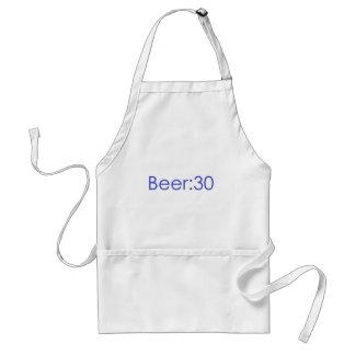 Cerveza Azul 30 Delantal