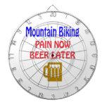 Cerveza Biking del dolor de la montaña ahora más Tabla Dardos