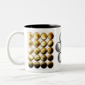 Cerveza Bottlecap Bling Taza De Café