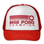 Cerveza canadiense Pong Gorras De Camionero