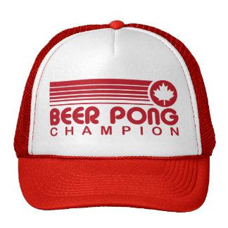 Cerveza canadiense Pong Gorro