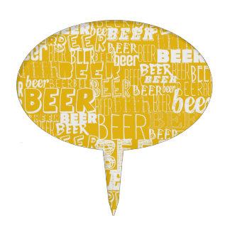 Cerveza, cerveza, cerveza figuras para tartas