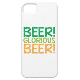 ¡Cerveza! ¡Cerveza gloriosa! Funda Para iPhone SE/5/5s