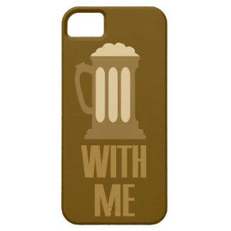 Cerveza conmigo caso del iPhone iPhone 5 Fundas