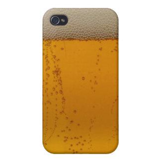 ¿cerveza conseguida? Caso temático del iphone de l iPhone 4 Carcasa