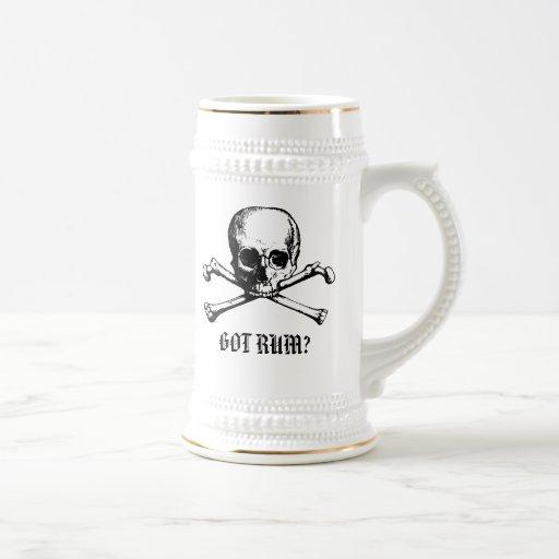 Cerveza conseguida Stein del ron Jarra De Cerveza