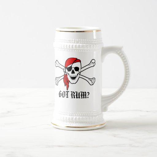 Cerveza conseguida Stein del ron Tazas De Café