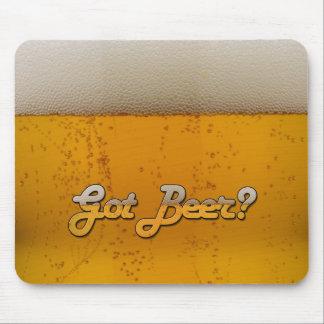 ¿Cerveza conseguida? Tapete De Ratón
