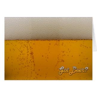 ¿Cerveza conseguida? Felicitacion