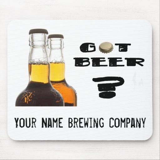 ¿Cerveza conseguida? U-Brew or Brewing Company Mousepad