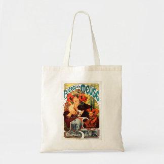 Cerveza de Alfonso Mucha de la bolsa de asas de la