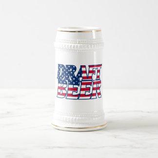 Cerveza de barril jarra de cerveza