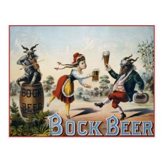 Cerveza de Bock Tarjetas Postales