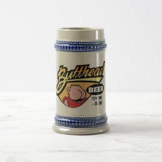 Cerveza de ButtHead---¡el Stein! Jarra De Cerveza