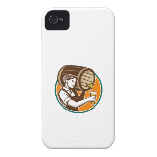 Cerveza de colada del barril del barrilete del cam Case-Mate iPhone 4 protectores