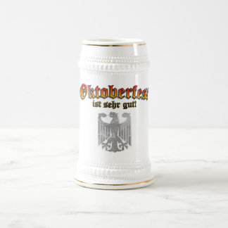 ¡Cerveza de consumición alemana Stein - Prost de O Tazas