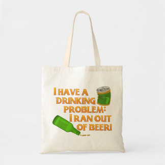 Cerveza de consumición divertida bolsa tela barata