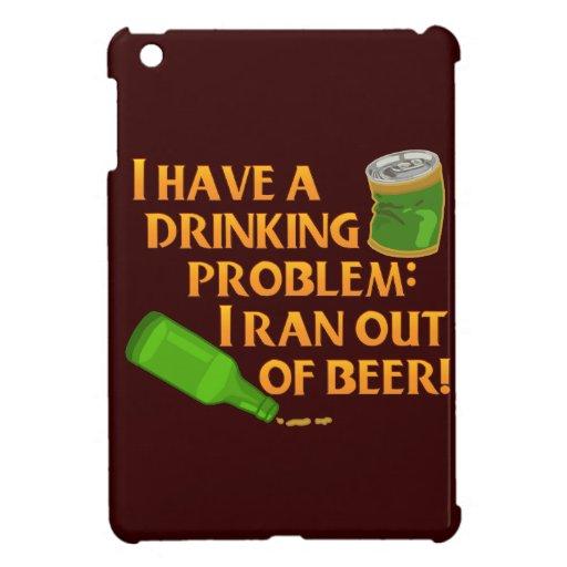 Cerveza de consumición divertida iPad mini carcasa