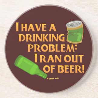 Cerveza de consumición divertida posavasos cerveza