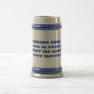 Cerveza de consumición taza