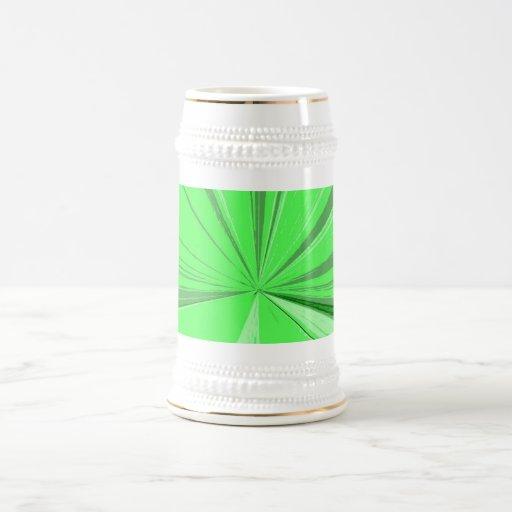 Cerveza de desaparición verde fluorescente Stein d Jarra De Cerveza