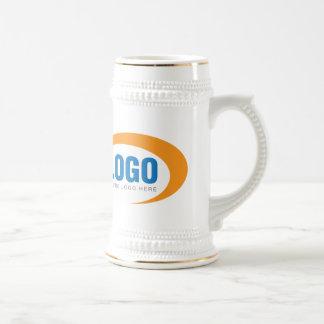 Cerveza de encargo Stein del logotipo del negocio Jarra De Cerveza