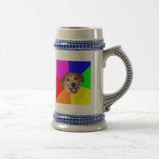 Cerveza de encargo Stein del perro del consejo Tazas De Café