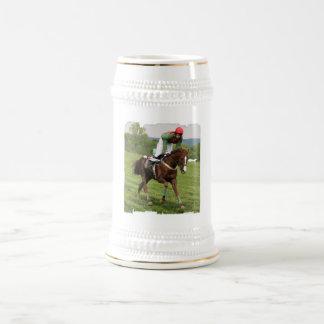 Cerveza de enfriamiento Stein del caballo Jarra De Cerveza