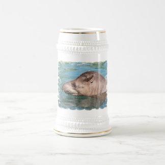 Cerveza de impregnación Stein del Tapir Jarra De Cerveza