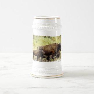 Cerveza de itinerancia Stein del búfalo Taza De Café
