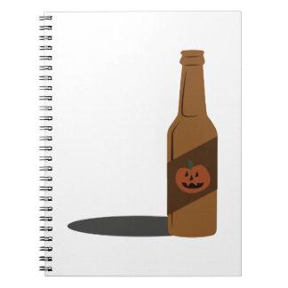 Cerveza de la calabaza libretas