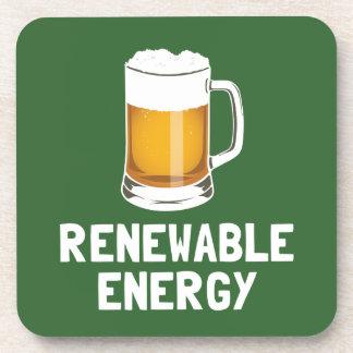 Cerveza de la energía renovable de St Patrick Posavasos De Bebida